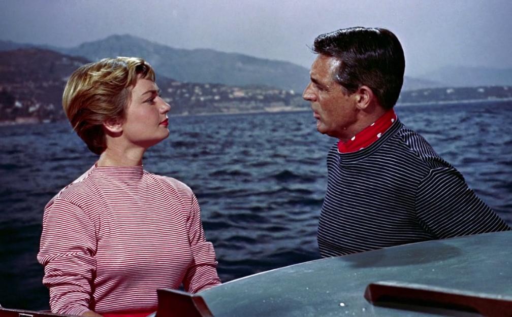 Atrapa a un ladrón: glamour bajo el sol del Mediterráneo. Danielle y Robie.