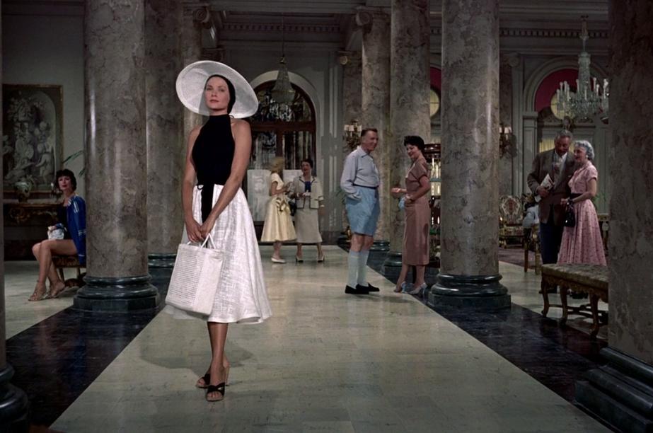 Atrapa a un ladrón: glamour bajo el sol del Mediterráneo. Un espectacular diseño de Edith Head.