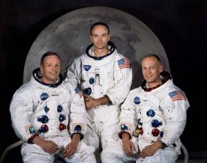 Atronautas del Apollo 11