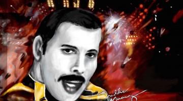 10 temas de Freddie Mercury en solitario y 3 Bonus Track. 24 aniversario del fallecimiento de Freddie Mercury y quinto d ela revista MoonMagazine.
