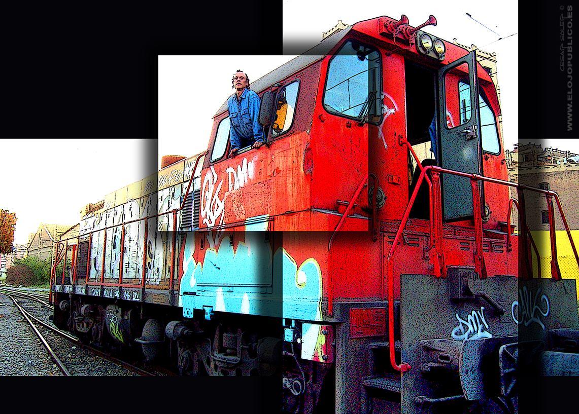 Graffiti ferroviario: ¿vandalismo o arte viajero? Entrevista a César Soler Sánchez realizada por Txaro Cárdenas.