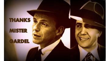 Gardel me salvó la vida. Los inicios de Sinatra. Óscar Plasencia.