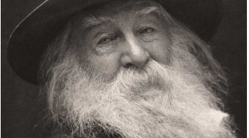 Walt Whitman, un poeta libre de influencias. Artículo de Pilar Molina García sobre el poeta norteamericano.