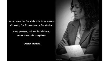 Cazador de Ratas o la apasionada búsqueda de la literatura de calidad. Su directora, Carmen Moreno, entrevistada por Txaro Cárdenas para MoonMagazine.