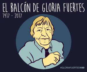 El balcón de Gloria Fuertes.