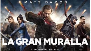 """""""La gran muralla"""", de Zhang Yimou. Hollywood recrea una gran leyenda china. Crítica de José Manuel Cruz para Revista MoonMagazine."""