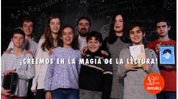 El Libro Invisible: el primer intento profesional de llevar la literatura infantil y juvenil a las pantallas. Santiago García Clairac entrevistado por Txaro Cárdenas para Revista MoonMagazine.