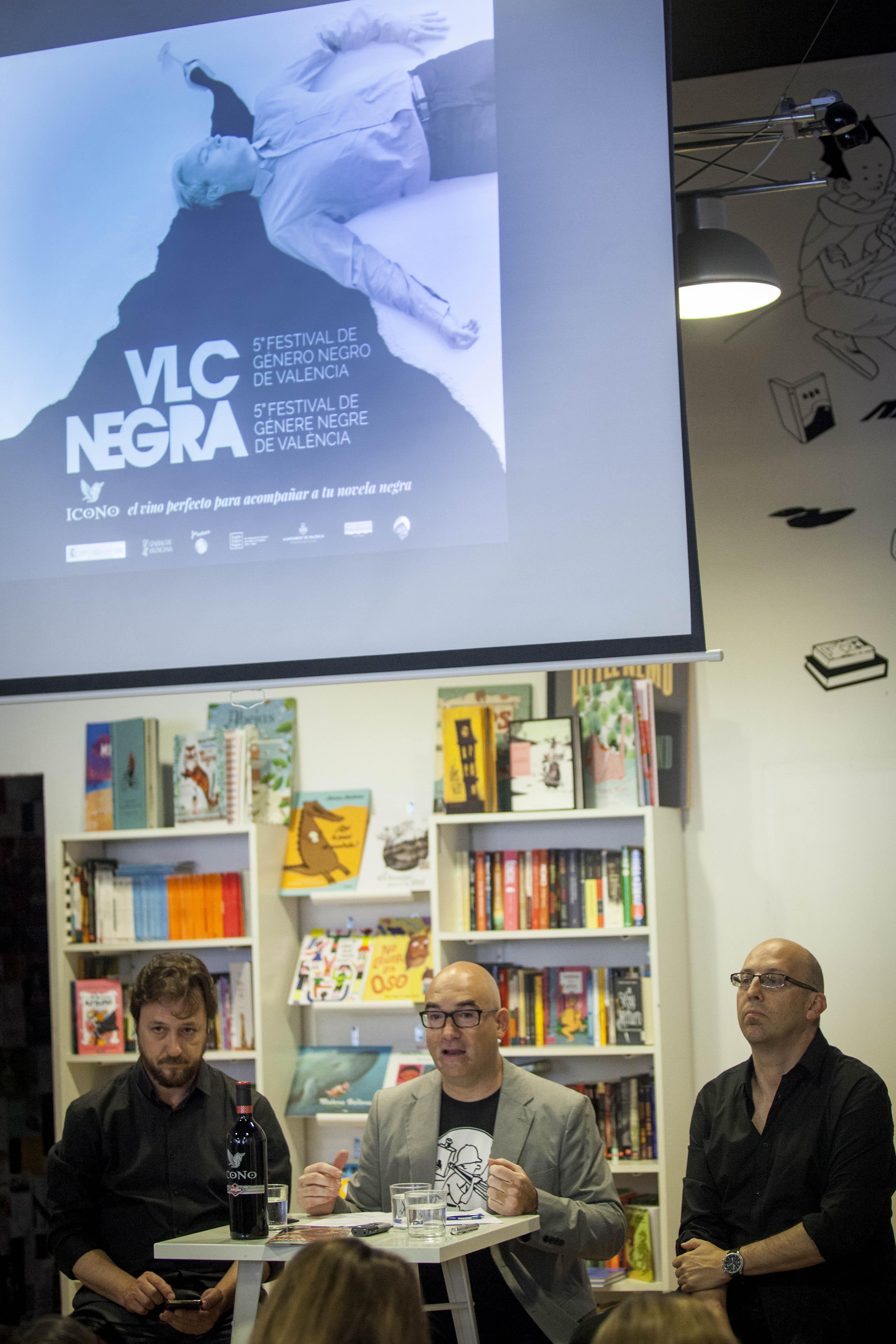 Valencia Negra (VLC) celebra su quinta edición con más de cien actividades y estrellas internacionales como Joël Dicker y Philip Kerr