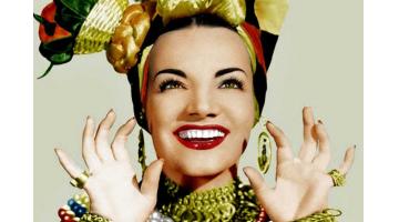 Hoy, en El Tocadiscos, la pista de baile y el Tico-Tico, con Carmen Miranda. J. J. Conde y Txaro Cárdenas.