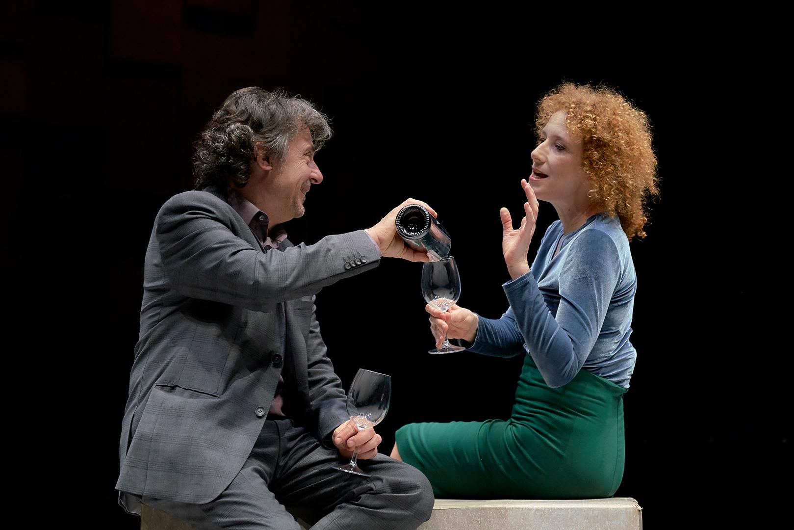 Pere Ponce y Clara Sanchís. Foto: MarcosGpunto