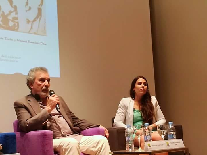 Mustafa Khalifa y Naomí Ramírez. Foto: Ana Ballesteros